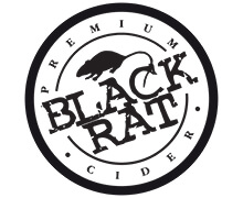 Cider Lager Beer Wholesaler Black Rat Logo
